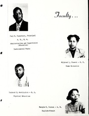 Page 6, 1951 Edition, Hudgins High School - Crusader Yearbook (Marion, NC) online yearbook collection