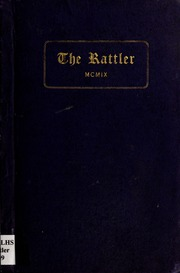 1909 Edition, Raleigh High School - Rattler Yearbook (Raleigh, NC)