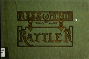 1913 Edition, Raleigh High School - Rattler Yearbook (Raleigh, NC)