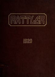 1920 Edition, Raleigh High School - Rattler Yearbook (Raleigh, NC)