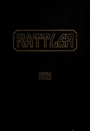 1921 Edition, Raleigh High School - Rattler Yearbook (Raleigh, NC)
