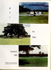 Page 5, 1980 Edition, Robeson Community College - Directions Yearbook (Lumberton, NC) online yearbook collection