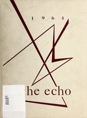 1964 Edition, Central Piedmont Community College - Echo Yearbook (Charlotte, NC)