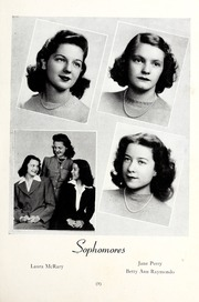 Page 13, 1945 Edition, St Genevieve of the Pines Junior College - Echo Yearbook (Asheville, NC) online yearbook collection