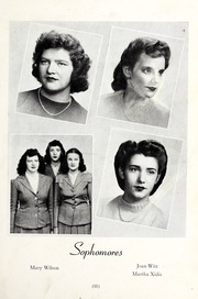 Page 15, 1945 Edition, St Genevieve of the Pines Junior College - Echo Yearbook (Asheville, NC) online yearbook collection