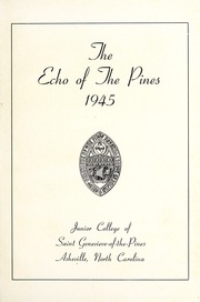 Page 5, 1945 Edition, St Genevieve of the Pines Junior College - Echo Yearbook (Asheville, NC) online yearbook collection