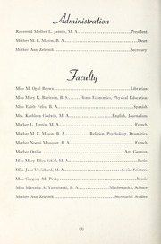Page 8, 1945 Edition, St Genevieve of the Pines Junior College - Echo Yearbook (Asheville, NC) online yearbook collection