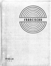 Page 1, 1941 Edition, Francisco High School - Franciscan Yearbook (Francisco, NC) online yearbook collection