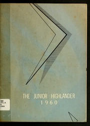 1960 Edition, Alexander Graham Junior High School - Junior Highlander Yearbook (Fayetteville, NC)