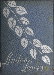 1955 Edition, Linwood High School - Linden Leaves Yearbook (Linwood, NC)