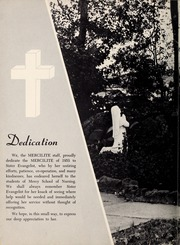 Page 10, 1953 Edition, Mercy School of Nursing - Mercilite Yearbook (Charlotte, NC) online yearbook collection