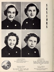 Page 16, 1953 Edition, Mercy School of Nursing - Mercilite Yearbook (Charlotte, NC) online yearbook collection