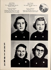 Page 17, 1953 Edition, Mercy School of Nursing - Mercilite Yearbook (Charlotte, NC) online yearbook collection