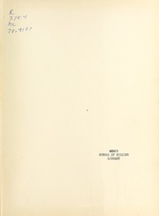 Page 3, 1953 Edition, Mercy School of Nursing - Mercilite Yearbook (Charlotte, NC) online yearbook collection