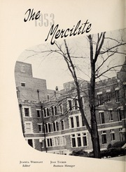 Page 6, 1953 Edition, Mercy School of Nursing - Mercilite Yearbook (Charlotte, NC) online yearbook collection