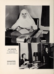 Page 10, 1955 Edition, Mercy School of Nursing - Mercilite Yearbook (Charlotte, NC) online yearbook collection