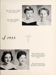 Page 15, 1955 Edition, Mercy School of Nursing - Mercilite Yearbook (Charlotte, NC) online yearbook collection