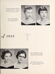 Page 17, 1955 Edition, Mercy School of Nursing - Mercilite Yearbook (Charlotte, NC) online yearbook collection