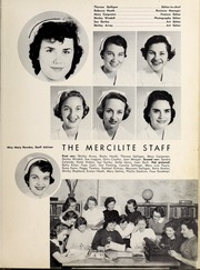Page 11, 1957 Edition, Mercy School of Nursing - Mercilite Yearbook (Charlotte, NC) online yearbook collection