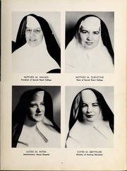 Page 13, 1957 Edition, Mercy School of Nursing - Mercilite Yearbook (Charlotte, NC) online yearbook collection