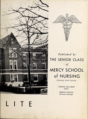 Page 7, 1957 Edition, Mercy School of Nursing - Mercilite Yearbook (Charlotte, NC) online yearbook collection