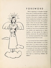 Page 8, 1957 Edition, Mercy School of Nursing - Mercilite Yearbook (Charlotte, NC) online yearbook collection
