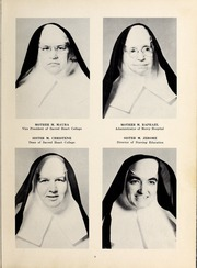 Page 13, 1958 Edition, Mercy School of Nursing - Mercilite Yearbook (Charlotte, NC) online yearbook collection