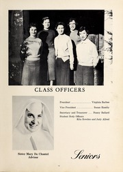 Page 17, 1958 Edition, Mercy School of Nursing - Mercilite Yearbook (Charlotte, NC) online yearbook collection