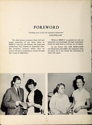 Page 8, 1958 Edition, Mercy School of Nursing - Mercilite Yearbook (Charlotte, NC) online yearbook collection