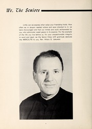 Page 10, 1959 Edition, Mercy School of Nursing - Mercilite Yearbook (Charlotte, NC) online yearbook collection