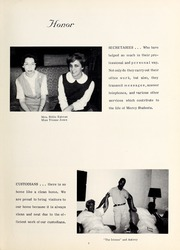 Page 11, 1964 Edition, Mercy School of Nursing - Mercilite Yearbook (Charlotte, NC) online yearbook collection