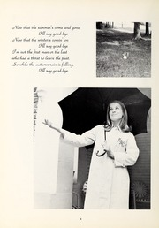 Page 8, 1971 Edition, Mercy School of Nursing - Mercilite Yearbook (Charlotte, NC) online yearbook collection
