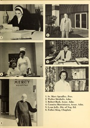 Page 11, 1975 Edition, Mercy School of Nursing - Mercilite Yearbook (Charlotte, NC) online yearbook collection