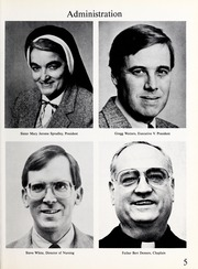 Page 9, 1988 Edition, Mercy School of Nursing - Mercilite Yearbook (Charlotte, NC) online yearbook collection