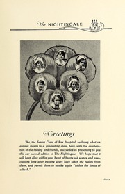 Page 11, 1927 Edition, Rex Hospital School of Nursing - Nightingale Yearbook (Raleigh, NC) online yearbook collection