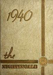 Page 1, 1940 Edition, Rex Hospital School of Nursing - Nightingale Yearbook (Raleigh, NC) online yearbook collection