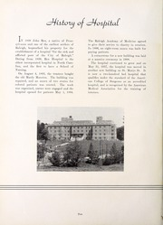 Page 14, 1940 Edition, Rex Hospital School of Nursing - Nightingale Yearbook (Raleigh, NC) online yearbook collection