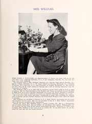 Page 13, 1945 Edition, Rex Hospital School of Nursing - Nightingale Yearbook (Raleigh, NC) online yearbook collection