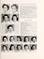 Page 17, 1945 Edition, Rex Hospital School of Nursing - Nightingale Yearbook (Raleigh, NC) online yearbook collection