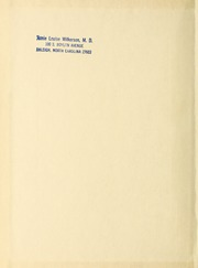 Page 2, 1945 Edition, Rex Hospital School of Nursing - Nightingale Yearbook (Raleigh, NC) online yearbook collection