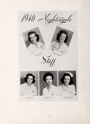 Page 8, 1946 Edition, Rex Hospital School of Nursing - Nightingale Yearbook (Raleigh, NC) online yearbook collection