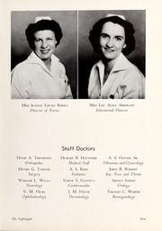 Page 13, 1949 Edition, Rex Hospital School of Nursing - Nightingale Yearbook (Raleigh, NC) online yearbook collection