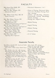 Page 17, 1949 Edition, Rex Hospital School of Nursing - Nightingale Yearbook (Raleigh, NC) online yearbook collection