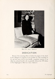Page 6, 1949 Edition, Rex Hospital School of Nursing - Nightingale Yearbook (Raleigh, NC) online yearbook collection