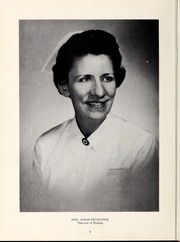 Page 10, 1961 Edition, Rex Hospital School of Nursing - Nightingale Yearbook (Raleigh, NC) online yearbook collection