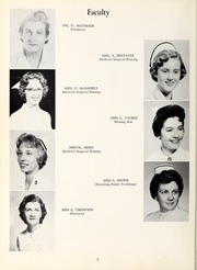 Page 12, 1961 Edition, Rex Hospital School of Nursing - Nightingale Yearbook (Raleigh, NC) online yearbook collection