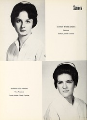 Page 16, 1963 Edition, Rex Hospital School of Nursing - Nightingale Yearbook (Raleigh, NC) online yearbook collection