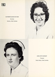 Page 17, 1963 Edition, Rex Hospital School of Nursing - Nightingale Yearbook (Raleigh, NC) online yearbook collection