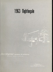 Page 5, 1963 Edition, Rex Hospital School of Nursing - Nightingale Yearbook (Raleigh, NC) online yearbook collection