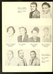 Page 14, 1955 Edition, Henderson Institute - Panther Yearbook (Henderson, NC) online yearbook collection